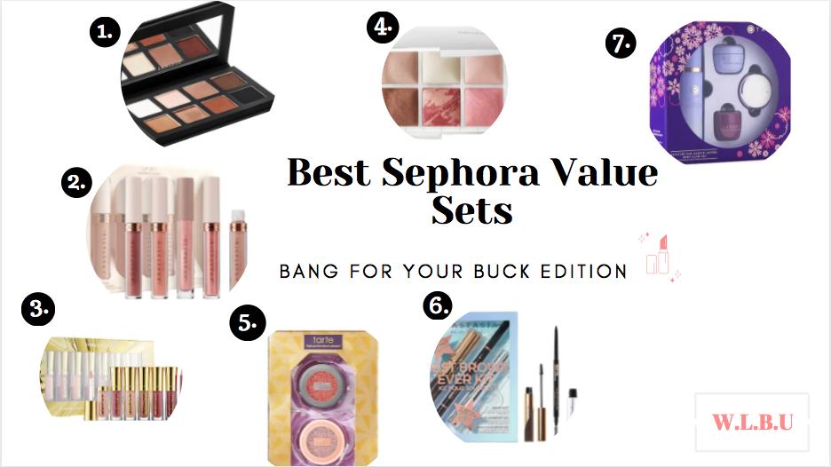 Best Sephora ValueSets
